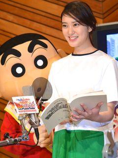 武井咲、憧れの「しんちゃん」からプロポーズされる!