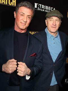スタローン、デ・ニーロのような演技に挑めなかった過去を告白!ボクシング映画で共演!