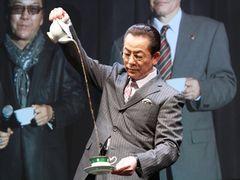 水谷豊、全国5都市「相棒」ファンに向け紅茶シーンを生披露!