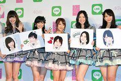 AKB48がLINEスタンプ化へ