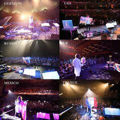 YOSHIKI、12年ぶりのソロツアー日本公演が全国の映画館で生中継!