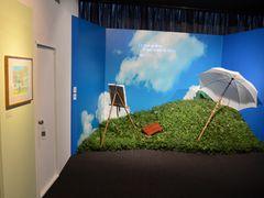 『風立ちぬ』原画展が開幕!二郎の紙飛行機&菜穂子のパラソルも展示