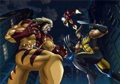 アベンジャーズ&X-MEN、夢の共演が日本のアニメで実現!