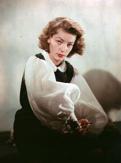名女優ローレン・バコールさん、89歳で死去 故ハンフリー・ボガートの元妻
