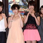 武田梨奈、アイドル+美少女戦士の衣装にドギマギ「胸元がすごく…」