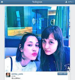 水原希子&佑果の姉妹ショットが「かわいい」