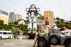「パトレイバー」東京国際映画祭に警備出動?六本木でデッキアップ!