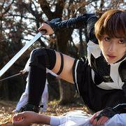 元新体操選手の花井瑠美が、アクション映画で大暴れ! 夢は「変態に生きること」!