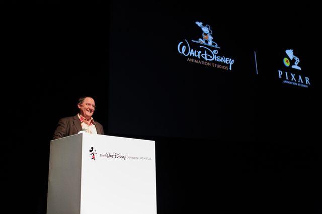 ウォルト・ディズニー・アニメーション・スタジオの閉鎖危機を振り返ったジョン・ラセター - 画像はオフィシャルより提供