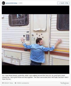 「ブレイキング・バッド」のピンクマン、再会したRV車にハグ