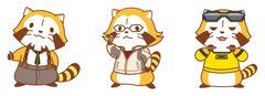 『TIGER & BUNNY』がラスカルとコラボ!虎徹ラスカルがキュート過ぎ!!