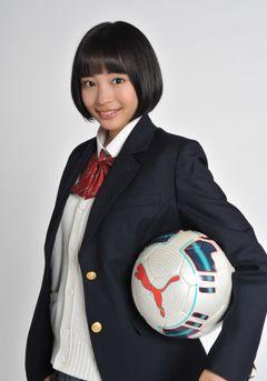 広瀬すず、10代目高校サッカー応援マネージャーに就任!姉・アリスに続き抜てき!
