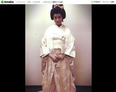 桐谷美玲、念願の白無垢姿を披露 「美しい」「似合う」と大評判