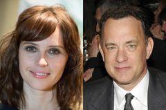 トム・ハンクスと新作『インフェルノ』で注目の女優フェリシティ・ジョーンズがタッグか?