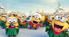 ミニオンたちがクリスマスソングを歌う!特別映像公開