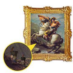 ミニオン、ナポレオンの肖像画にひっそりと描かれていた!