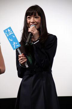 「あまちゃん」優希美青、クランクアップで「でーれー泣いた」