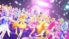 プリキュア40人が迫力のダンス!『プリキュアオールスターズ』本編映像が公開!
