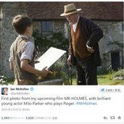 イアン・マッケラン演じる93歳のシャーロック・ホームズ!映像初公開