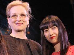 メリル・ストリープ、神田沙也加の歌声を絶賛!「わたしの歌よりずっと良かった」