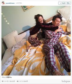 木下優樹菜、フジモンとベッドで大はしゃぎ!「仲良さそう」の声が殺到