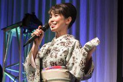 声優・三石琴乃、艶やか「セーラームーン」仕様の着物姿に喝采!