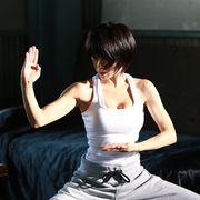 釈由美子、完璧な美ボディーが躍動!14年ぶり本格アクション映画公開!