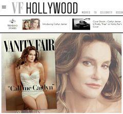 金メダリストのブルース・ジェンナー、女性化した姿を初公表 雑誌表紙を飾る