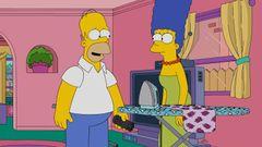 「ザ・シンプソンズ」のホーマーとマージが別居