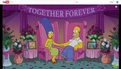 「ザ・シンプソンズ」夫婦、離婚騒動を自ら否定!