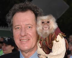 『パイレーツ・オブ・カリビアン』ジャック役の猿、スタッフを襲う