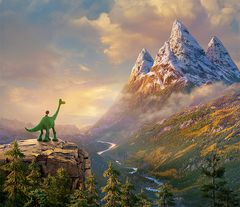 甘えん坊の恐竜が人間の子供と出会ったら…?ピクサー新作来年3月日本公開