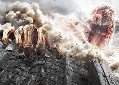 実写版『進撃の巨人』46万人動員で1位スタート!