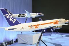 ANA『スター・ウォーズ』特別塗装機がお披露目!10月に就航