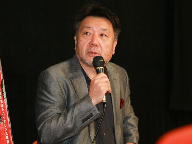 初日トークイベントにに来場しペキンパー監督にインタビューした当時を振り返った映画監督・原田眞人