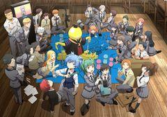 アニメ「暗殺教室」2期が1月より放送!暗殺計画中の生徒たちのビジュアル公開!