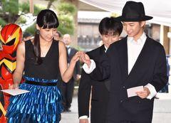 千葉雄大、山本美月をはにかみエスコート!第2回京都国際映画祭レッドカーペット
