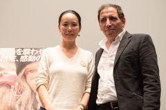 河瀬直美が総理大臣になったら…日本大好きイランの鬼才モフセン・マフマルバフ監督と対談!