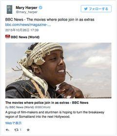 警察から銃を借りて映画を撮る!ソマリランドの映画会社