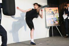 武田梨奈の鋭い蹴りに韓国アクション監督も興奮!「誘拐して撮影現場に連れていきたい!」