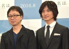 新海誠監督&神木隆之介、新作アニメ『君の名は。』で相思相愛!「見ほれちゃいます」