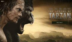 実写版『ターザン』海外版予告編が公開 走る、ほえる、戦う!アクション満載