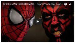 もしもダース・モールがスパイダーマンと戦ったら?クオリティー高すぎる海外動画が話題
