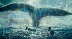 """実際に鯨に襲われた辛坊治郎も太鼓判のリアルさ!人間を襲う""""怪物""""『白鯨との闘い』新映像"""