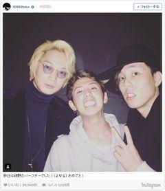 綾野剛×RADWIMPS野田×ONE OK ROCK・Takaのお宝写真にファン大歓喜!