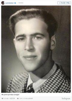 ジャスティン・ビーバー、曾祖父がソックリで「いいね」100万件