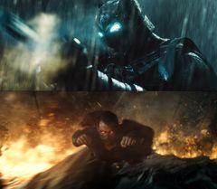 バットマン&スーパーマン、一触即発!世紀の対面で正義が激突!