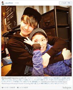 UVERworld・TAKUYA∞とJOYの2ショットに反響「自慢の彼氏」