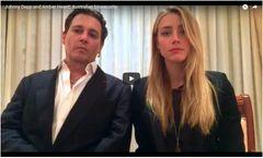 ジョニー・デップ夫妻、ビデオで謝罪 豪・犬違法持ち込み裁判で
