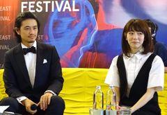"""斎藤工、""""可愛すぎる""""プロデューサーを伊映画祭で紹介「僕の奥さんか彼女かと思われている」"""